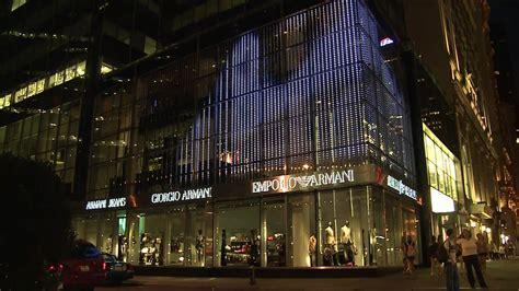 nyc armani project armani 5th avenue new york media facade