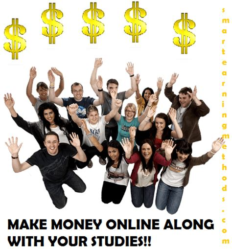 Make Money Online For College Students - top 7 ways for college students to make money online 2012 smart earning methods