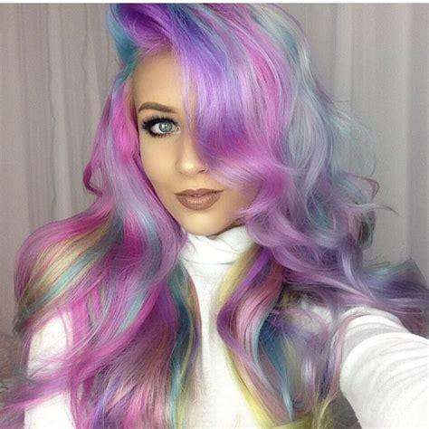 mermaid hair colors 25 trending mermaid hair colors ideas on