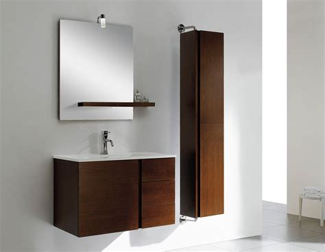 wall hanging bathroom cabinets at adornus caleb 40 inch modern wall mounted bathroom