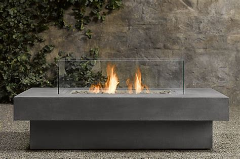 Outdoor Fireplace Table by Design Detail Outdoor Table