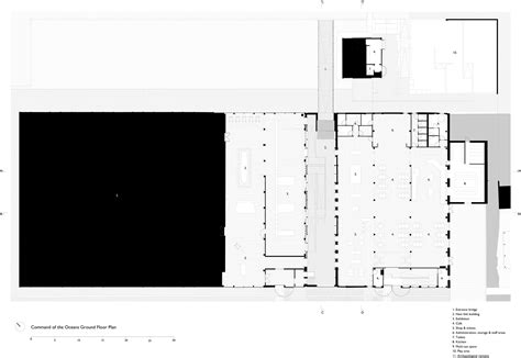 Image Of Floor Plan by Gallery Of Command Of The Oceans Baynes And Mitchell