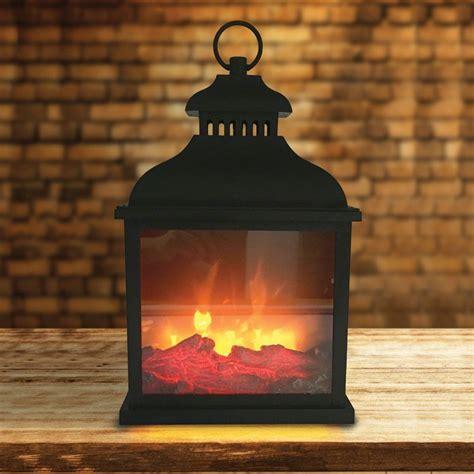 led fireplace lantern battery operated buy   qd