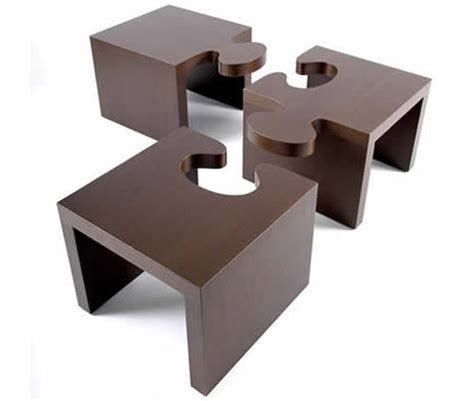 Puzzle Coffee Table Puzzle Cocktail Table Set By Patou Design