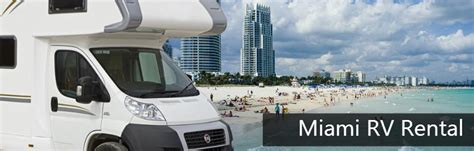 Hertz Car Rental Port Of Miami by Rv Rental Miami Get It From Vroomvroomvroom