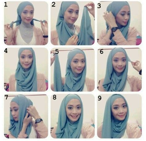 tutorial hijab simple youtube 25 best ideas about easy hijab tutorial on pinterest