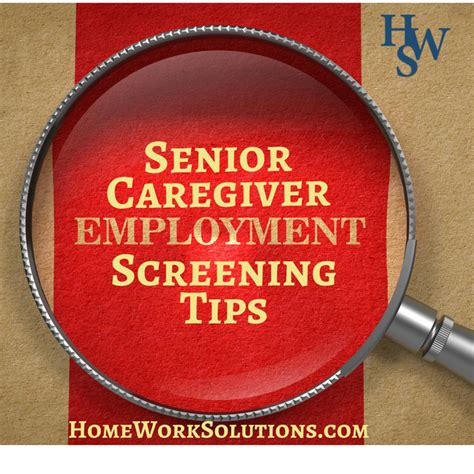 What Is A Caregiver Background Check Background Screening For Senior Home Care