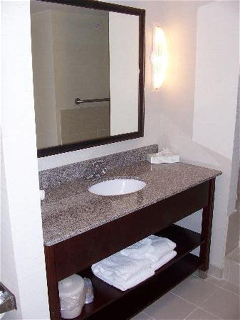 Hotel Bathroom Vanities The Bathroom Vanity Picture Of Inn Express Hotel Suites Brockville Brockville