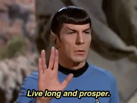 Middle Finger Meme Gif - star trek know your meme