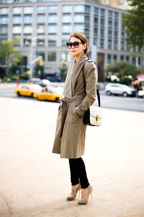 current fashion for midthirties ladies trench 7 basic fashion essentials to have by mid