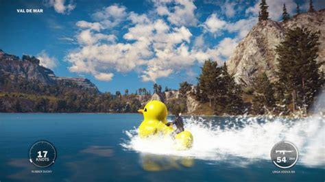 fast boat in just cause 3 just cause 3 how to get the rubber ducky boat