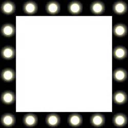lights frame stage lights clipart chadholtz