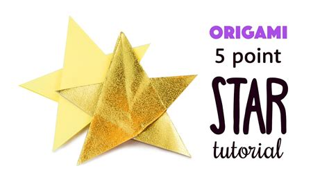 Origami 5 Pointed - easy origami 5 pointed comot