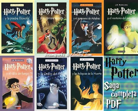 descargar pdf harry potter spanish harry potter y la orden del fenix libro libros de harry potter y otros en formato pdf identi