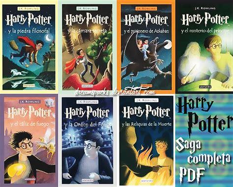 libro harry potter pdf saga harry potter libros pdf by dreamspacks on