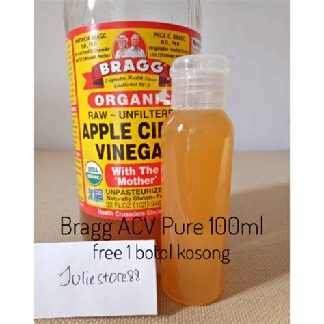 Bragg Apple Cider Vinegar Cuka Apel Murni 250ml bragg apple cider vinegar cuka apel shopee indonesia