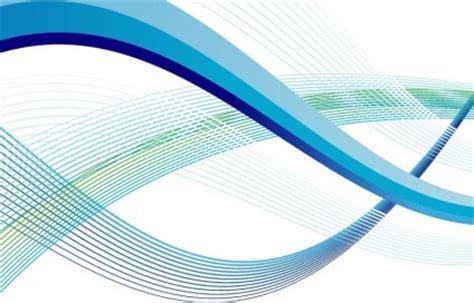 Wallpaper Sticker Dinding Biru Garis Putih Keren Modern seni vektor abstrak gelombang garis vektor abstrak vektor gratis gratis