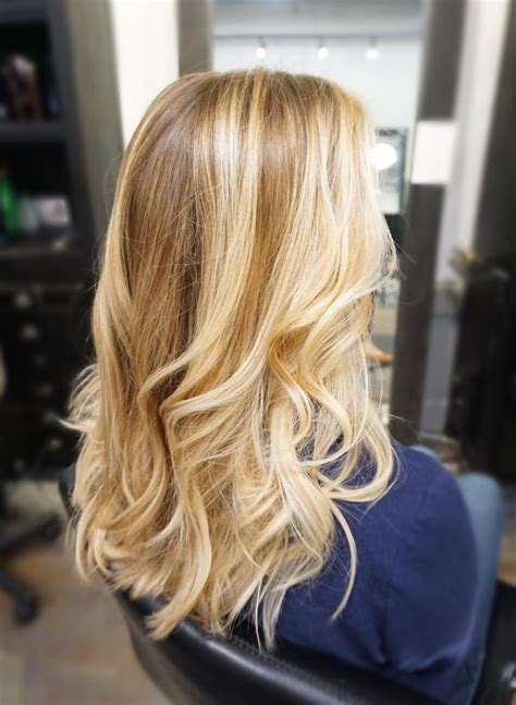 medium hair with blonde balayage hifow quick easy les 96 meilleures images du tableau haircuts sur pinterest