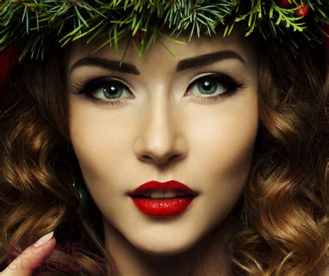 google christmas makeup 20 easy makeup ideas for every season