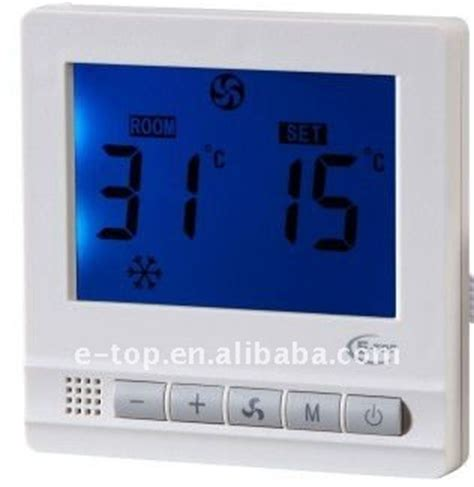 infraed remote control lcd fcu room thermostat buy room thermostatlcd fcu thermostatinfraed
