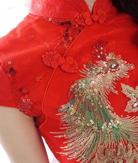 Mutan Cheongsam Dress Cina Imlek Merah baju wanita cheongsam modern 2014 model terbaru jual