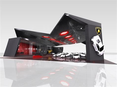 cars photo booth layout car trade show displays lamborghini booth pinterest