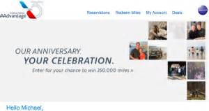American Airlines Anniversary Giveaway - american airlines giving away 12 250 000 aadvantage miles