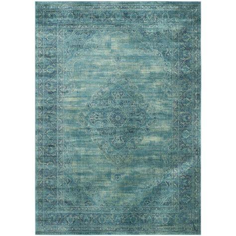 safavieh vintage turquoise multi 8 safavieh vintage turquoise multi 8 ft x 11 ft 2 in area rug vtg112 2220 8 the home depot