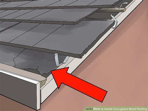install corrugated metal roofing  steps
