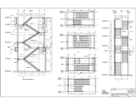 how to draw stairs in a floor plan advanced detailing corp steel stairs shop drawings