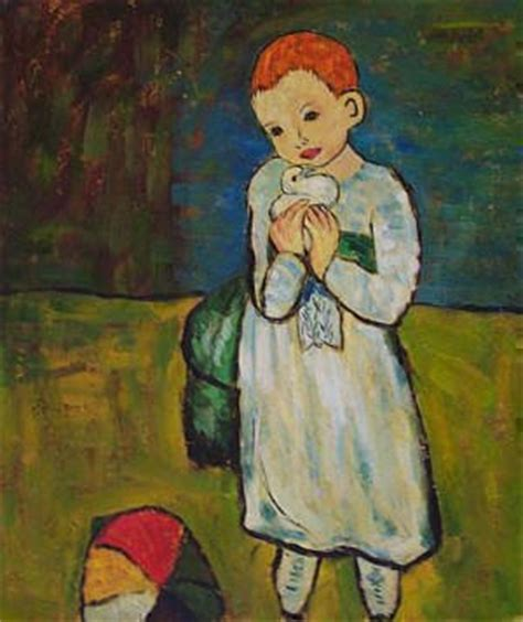 picasso paintings child with a dove kote eristavi pablo picasso quot child with a dove quot