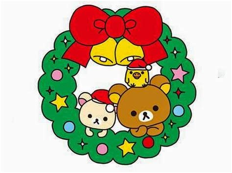 imagenes de la navidad kawaii pc kawaii navidad iconos fondos papercraft rilakkuma