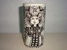 Vas Flora 1000 images about bj 248 rn wiinblad design retro ceramics on flora vase and
