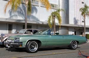 Buick Centurion Convertible Check This One Out All Original 1973 Buick Centurion