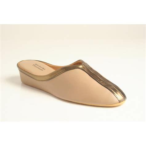 leather soled slippers nicholas thomson nicholas thomson wedge mule slipper in