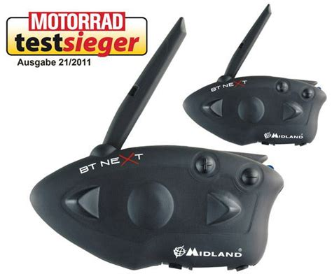 Motorrad Radio Bluetooth by Midland Bt Next Twin Bluetooth Motorrad Funk Gruppenfunk