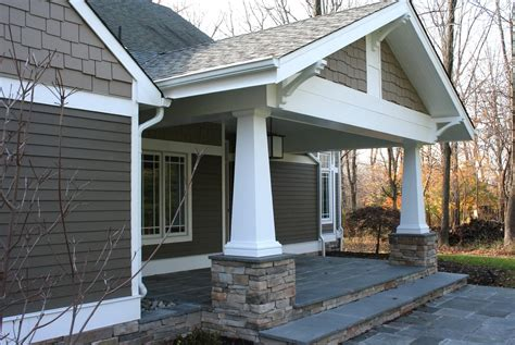 craftsman porches craftsman porch column styles