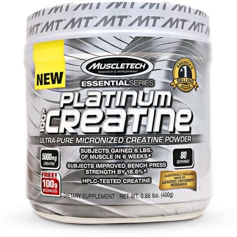 Muscletech Platinum Creatine 1500 Gr Creatine muscletech platinum 100 creatine