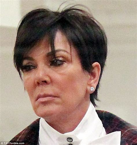 pics of chris jenners different hairstyles kris jenner looks exhausted on outing with kim kardashian