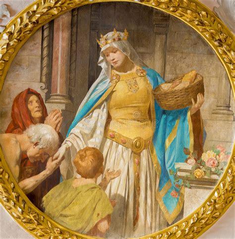 vestibulo iglesia viena pintura del st elizabeth de hungr 237 a del vest 237 bulo