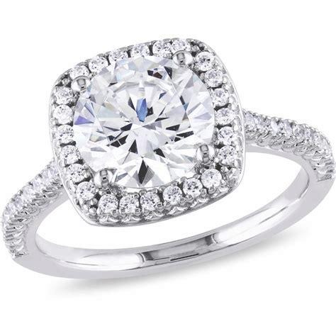 miabella 5 carat t g w cubic zirconia sterling silver halo