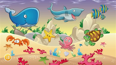 kids ocean jigsaw puzzles  apk  android puzzle games