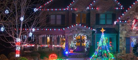 christmas decoration outside home outdoor christmas lights ideas for the roof grand cascade