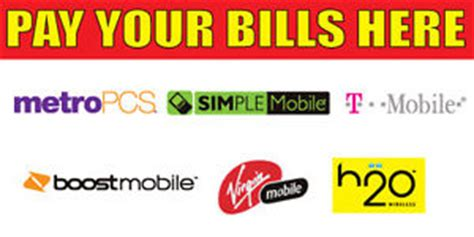 2'x4' pay your bills here vinyl banner high quality