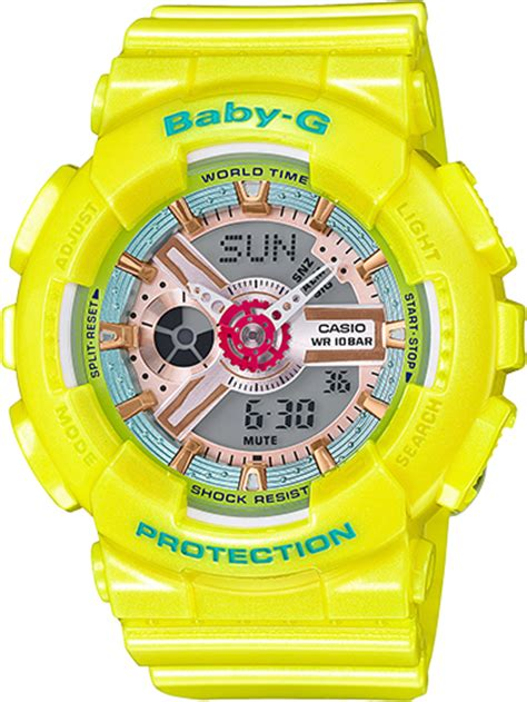 Baby G Ba 110 ba110ca 9a baby g ba 110 series womens watches casio