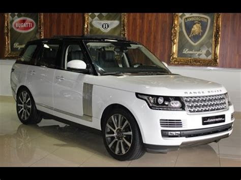 2016 range rover vogue suv review youtube