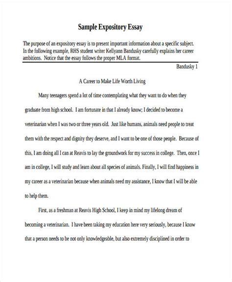Expository Essay Exles For High School Students by Expository Essay Exles For Highschool Students Docoments Ojazlink