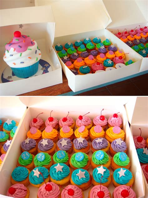 Cupcake Birthday Cake by Butter Hearts Sugar Cupcake Cake And Cupcakes