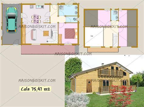 Beau Prix D Une Maison En Kit #6: Plan-chalet-bois-4-chambres.jpg