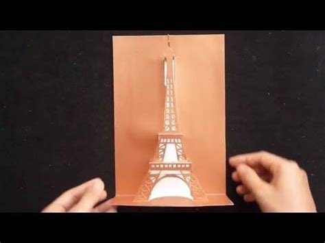 eiffel tower pop up card template 7 best pop up cards images on pop up cards